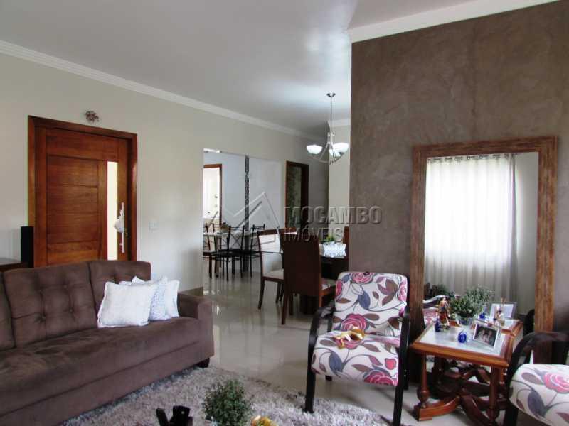 Sala - Casa em Condominio À Venda - Itatiba - SP - Residencial Fazenda Serrinha - FCCN30309 - 7