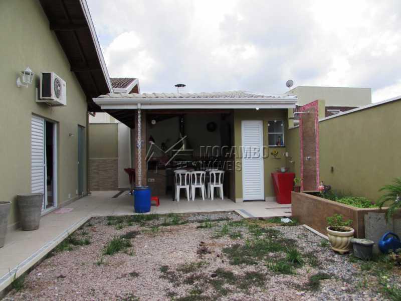 Quintal - Casa em Condominio À Venda - Itatiba - SP - Residencial Fazenda Serrinha - FCCN30309 - 23