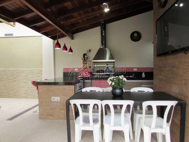 Area gourmet - Casa em Condominio À Venda - Itatiba - SP - Residencial Fazenda Serrinha - FCCN30309 - 24