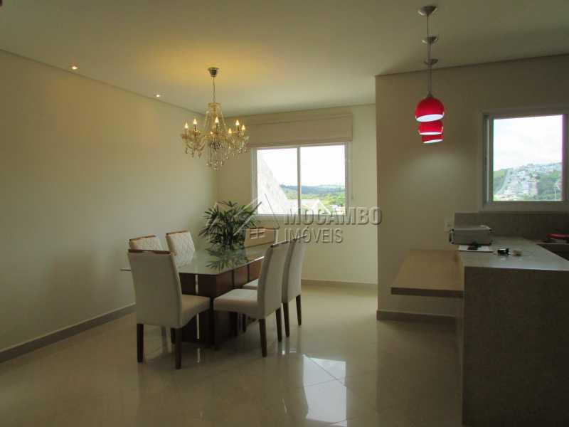 Sala de Jantar  - Casa À Venda no Condomínio Itatiba Country Club - Residencial Fazenda Serrinha - Itatiba - SP - FCCN30311 - 4