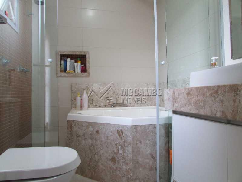 Banheiro Suíte  - Casa À Venda no Condomínio Itatiba Country Club - Residencial Fazenda Serrinha - Itatiba - SP - FCCN30311 - 15