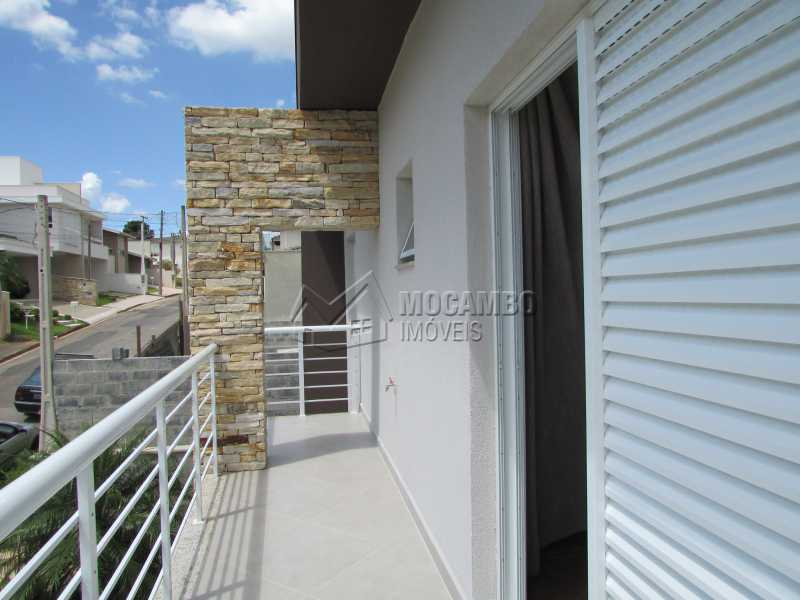 Varanda  - Casa À Venda no Condomínio Itatiba Country Club - Residencial Fazenda Serrinha - Itatiba - SP - FCCN30311 - 16