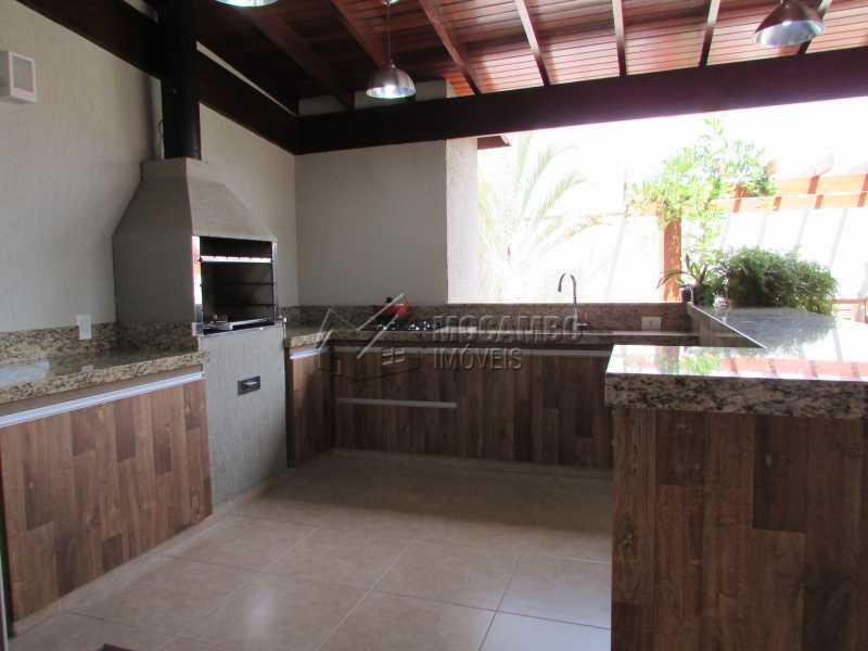 Área Gourmet  - Casa À Venda no Condomínio Itatiba Country Club - Residencial Fazenda Serrinha - Itatiba - SP - FCCN30311 - 19