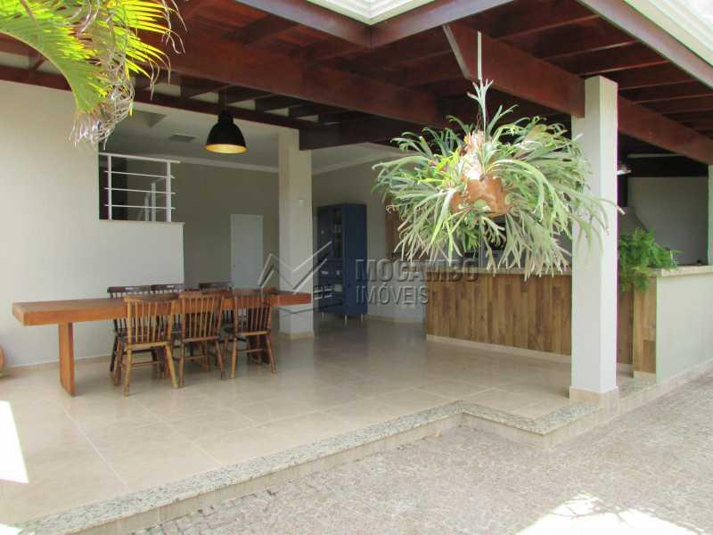 Área Gourmet  - Casa À Venda no Condomínio Itatiba Country Club - Residencial Fazenda Serrinha - Itatiba - SP - FCCN30311 - 20