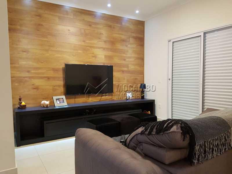 Sala TV - Casa em Condomínio 3 quartos à venda Itatiba,SP - R$ 1.000.000 - FCCN30313 - 4