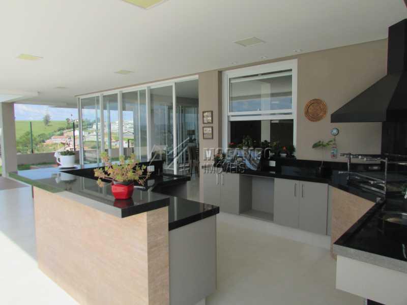 Churrasqueira - Casa em Condomínio 4 quartos à venda Itatiba,SP - R$ 2.280.000 - FCCN40101 - 25