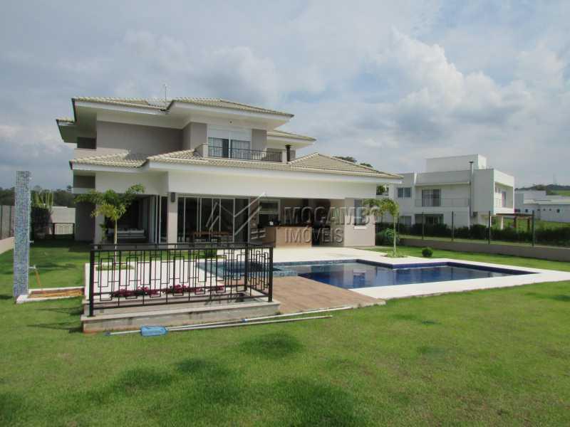 Vista Piscina - Casa em Condomínio 4 quartos à venda Itatiba,SP - R$ 2.280.000 - FCCN40101 - 1