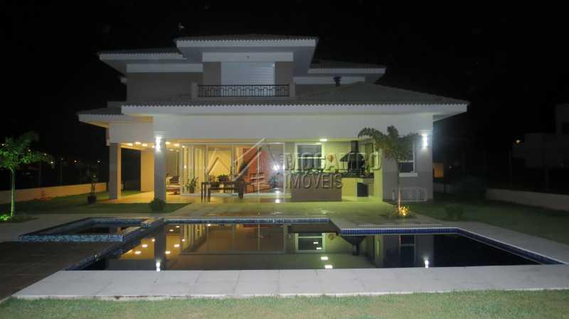 Fachada dos Fundos - Casa em Condomínio 4 quartos à venda Itatiba,SP - R$ 2.280.000 - FCCN40101 - 30