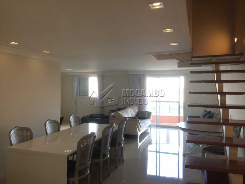 Sala 3 ambientes - Apartamento 4 quartos à venda Itatiba,SP - R$ 1.300.000 - FCAP40006 - 4