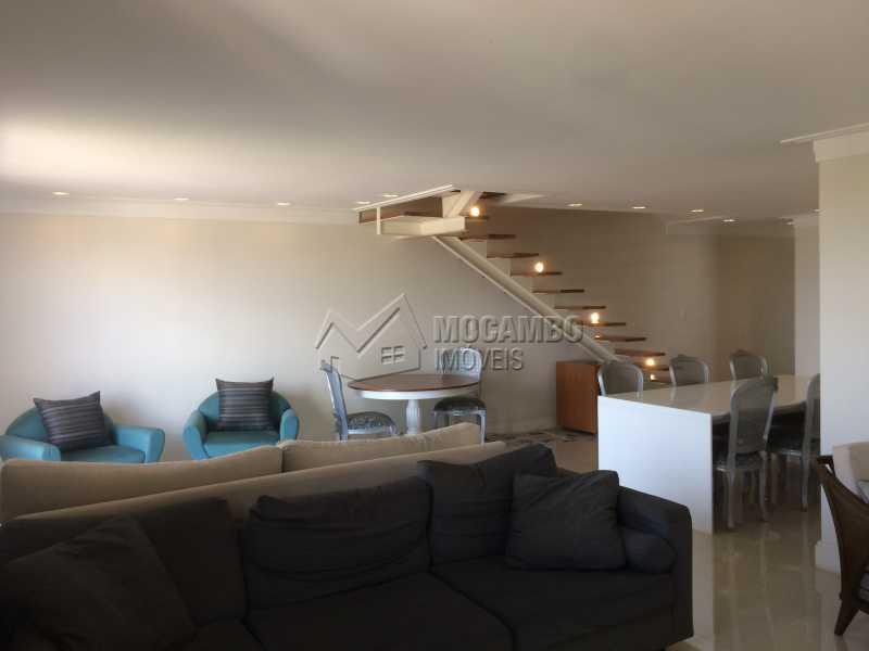 Sala 3 ambientes - Apartamento 4 quartos à venda Itatiba,SP - R$ 1.300.000 - FCAP40006 - 6