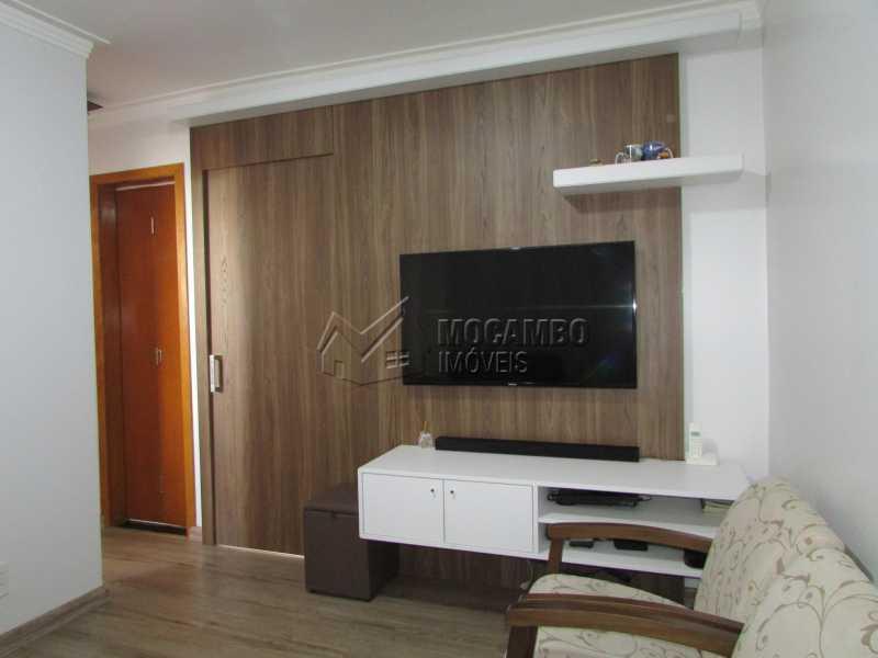 Sala - Apartamento À Venda - Itatiba - SP - Núcleo Residencial João Corradini - FCAP20693 - 3