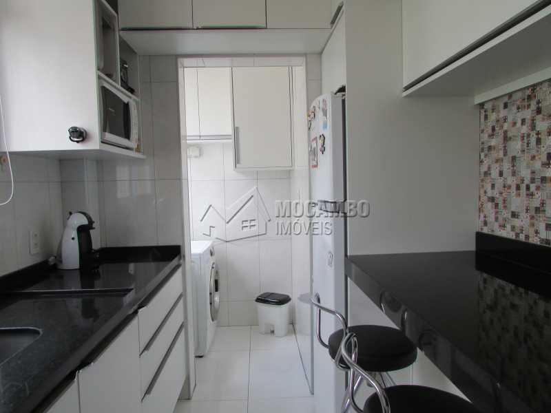 Cozinha  - Apartamento À Venda - Itatiba - SP - Núcleo Residencial João Corradini - FCAP20693 - 7