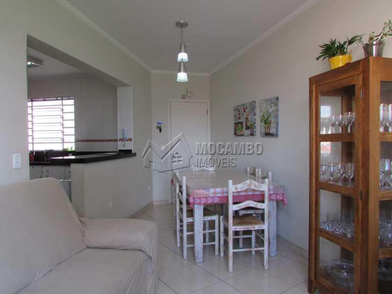 Sala  - Apartamento Condomínio Residencial Tescarollo, Rua João Franco Penteado,Itatiba, Vila Penteado, SP À Venda, 3 Quartos, 90m² - FCAP30407 - 3