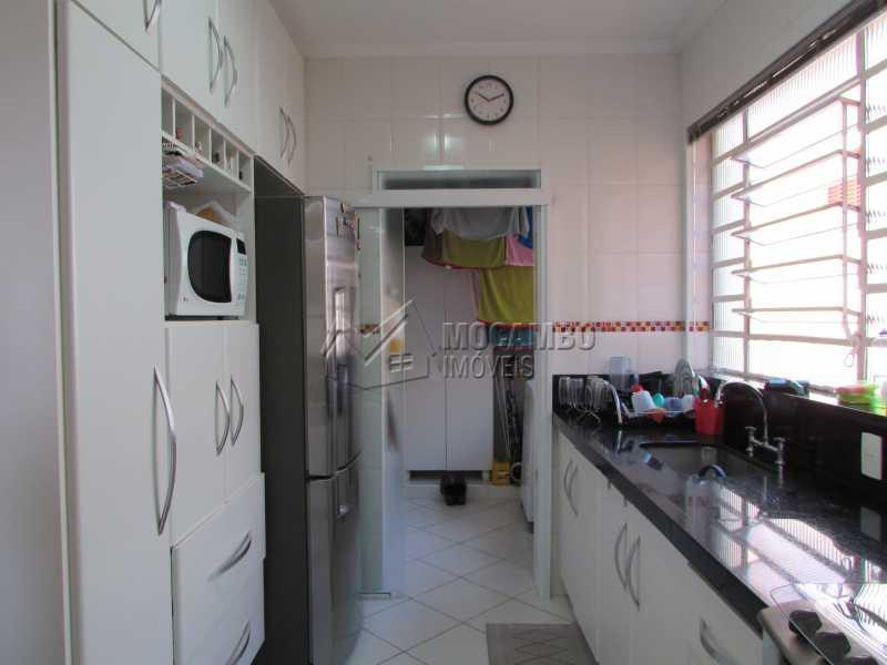 Cozinha  - Apartamento Condomínio Residencial Tescarollo, Rua João Franco Penteado,Itatiba, Vila Penteado, SP À Venda, 3 Quartos, 90m² - FCAP30407 - 4