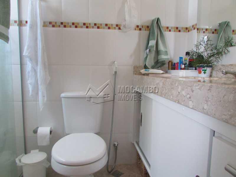 Banheiro Suíte  - Apartamento Condomínio Residencial Tescarollo, Rua João Franco Penteado,Itatiba, Vila Penteado, SP À Venda, 3 Quartos, 90m² - FCAP30407 - 5