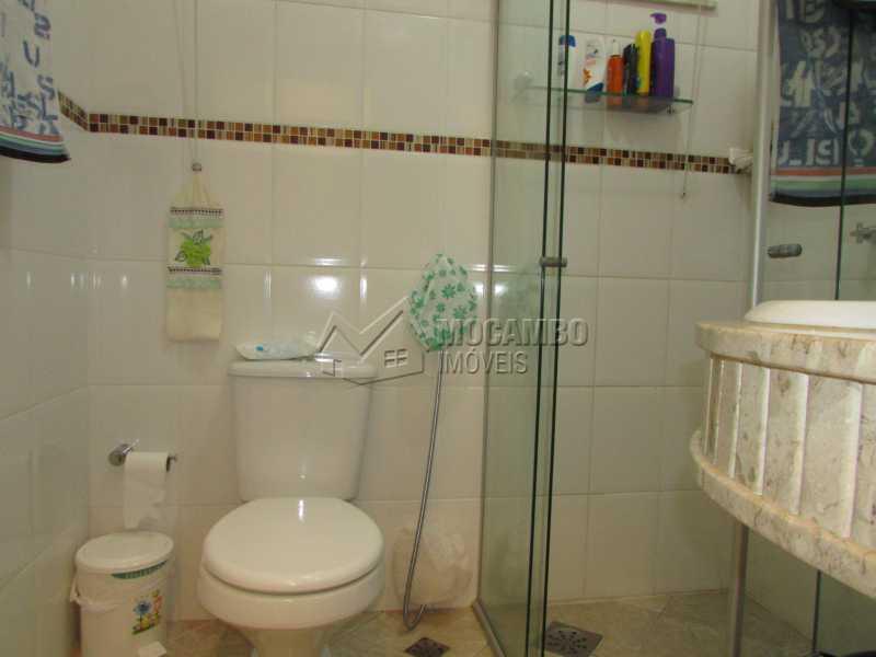 Banheiro Social  - Apartamento Condomínio Residencial Tescarollo, Rua João Franco Penteado,Itatiba, Vila Penteado, SP À Venda, 3 Quartos, 90m² - FCAP30407 - 7