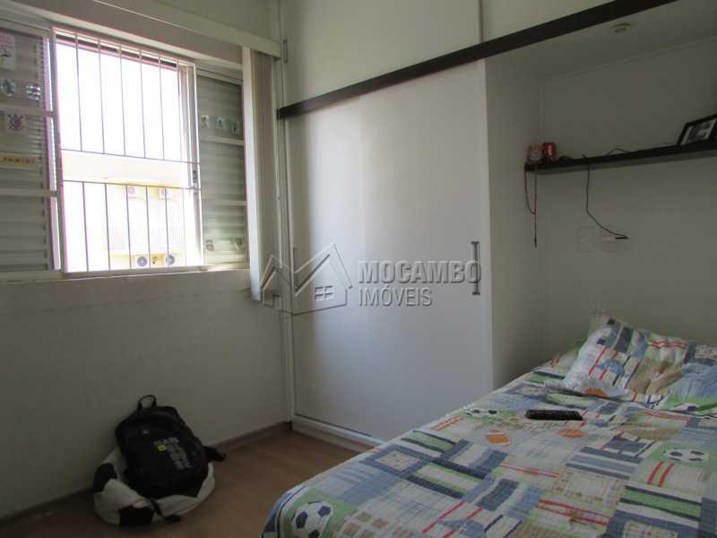 Dormitório  - Apartamento Condomínio Residencial Tescarollo, Rua João Franco Penteado,Itatiba, Vila Penteado, SP À Venda, 3 Quartos, 90m² - FCAP30407 - 10