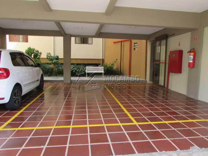 Garagem coberta  - Apartamento Condomínio Residencial Tescarollo, Rua João Franco Penteado,Itatiba, Vila Penteado, SP À Venda, 3 Quartos, 90m² - FCAP30407 - 11