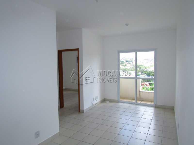 Sala - Apartamento Condomínio Edifício Up Tower Salessi, Itatiba, Jardim Salessi, SP À Venda, 2 Quartos, 54m² - FCAP20709 - 1