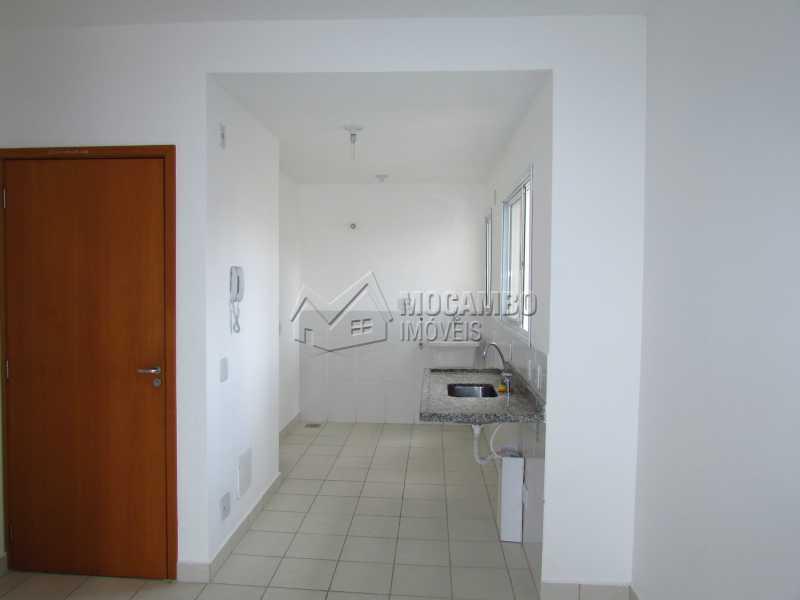 Cozinha - Apartamento Condomínio Edifício Up Tower Salessi, Itatiba, Jardim Salessi, SP À Venda, 2 Quartos, 54m² - FCAP20709 - 3