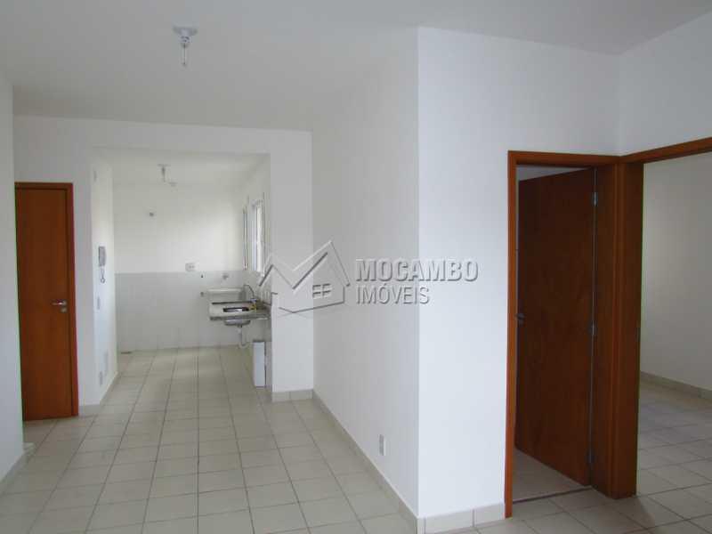 Sala - Apartamento Condomínio Edifício Up Tower Salessi, Itatiba, Jardim Salessi, SP À Venda, 2 Quartos, 54m² - FCAP20709 - 10