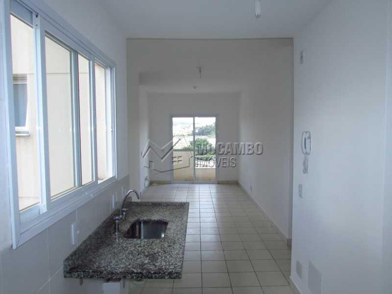Cozinha - Apartamento Condomínio Edifício Up Tower Salessi, Itatiba, Jardim Salessi, SP À Venda, 2 Quartos, 54m² - FCAP20709 - 12