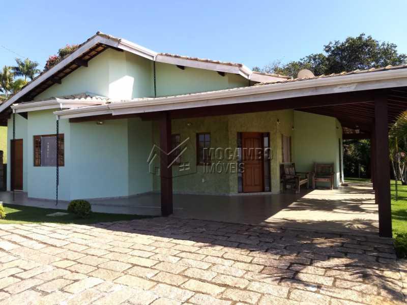 Fachada - Casa Para Alugar no Condomínio Capela do Barreiro - Capela do Barreiro - Itatiba - SP - FCCN30317 - 1