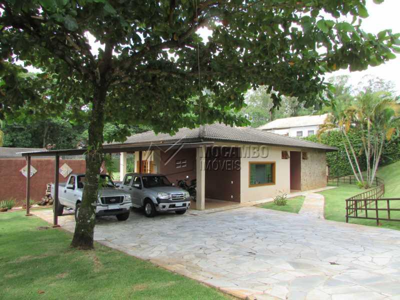 Entrada/Garagem - Casa em Condominio em condomínio À Venda - Condomínio Ville Chamonix - Itatiba - SP - Jardim Nossa Senhora das Graças - FCCN40103 - 12