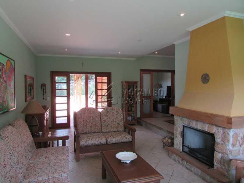 Sala 2 ambientes - Casa À Venda no Condomínio Ville Chamonix - Jardim Nossa Senhora das Graças - Itatiba - SP - FCCN40103 - 22