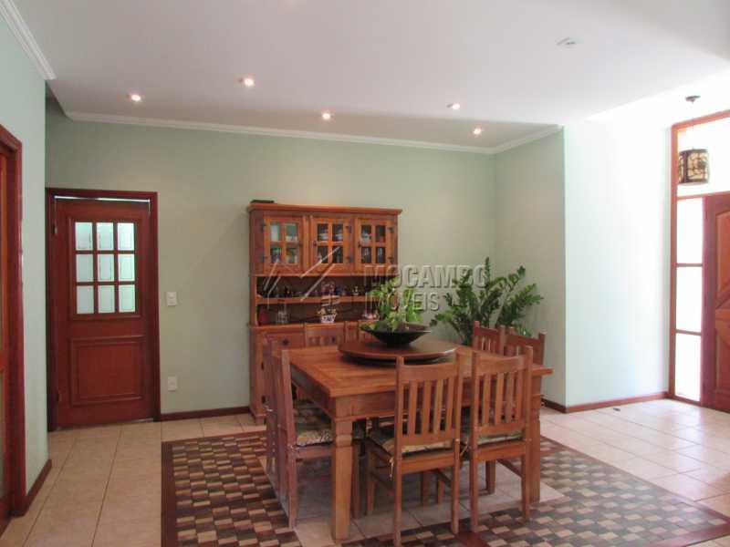 Sala jantar - Casa À Venda no Condomínio Ville Chamonix - Jardim Nossa Senhora das Graças - Itatiba - SP - FCCN40103 - 23