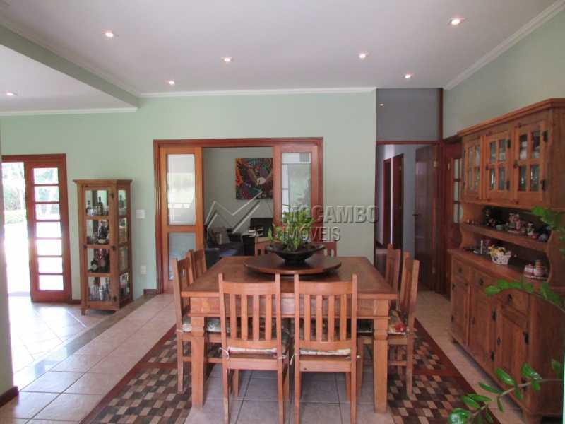 Sala jantar - Casa em Condominio Para Venda ou Aluguel - Itatiba - SP - Ville Chamonix - FCCN40103 - 25