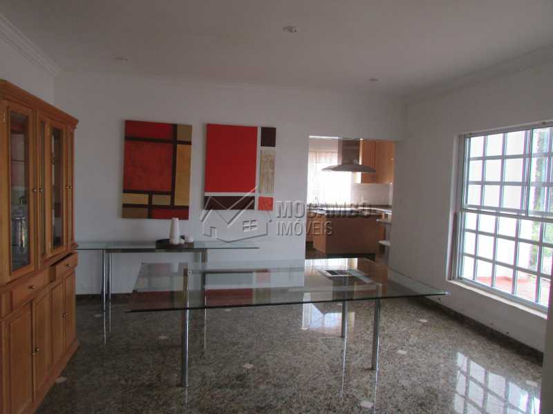 Sala de Jantar - Casa em Condomínio 5 Quartos À Venda Itatiba,SP - R$ 1.200.000 - FCCN50017 - 14