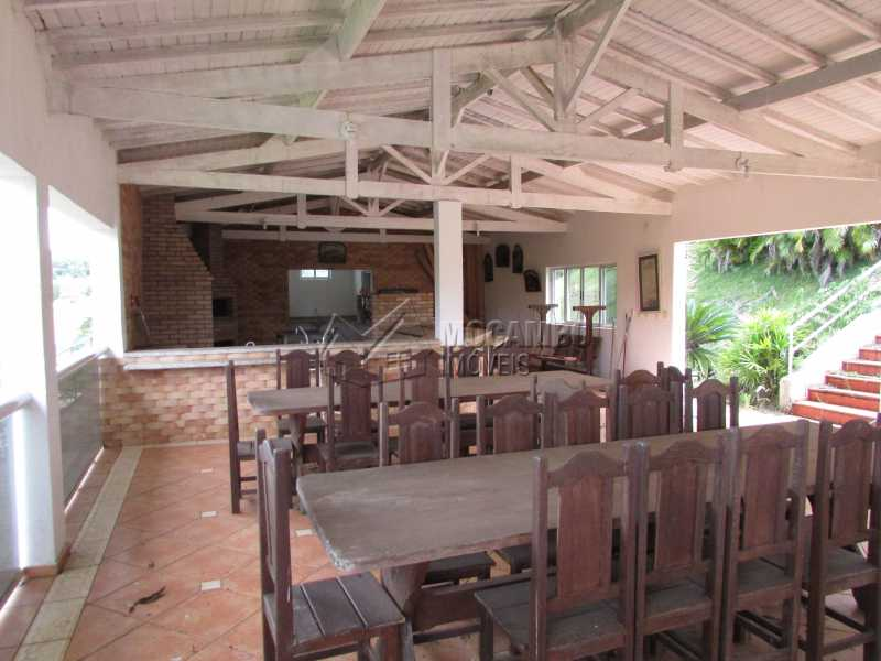 Salão de Festa  - Casa em Condomínio 5 Quartos À Venda Itatiba,SP - R$ 1.200.000 - FCCN50017 - 12