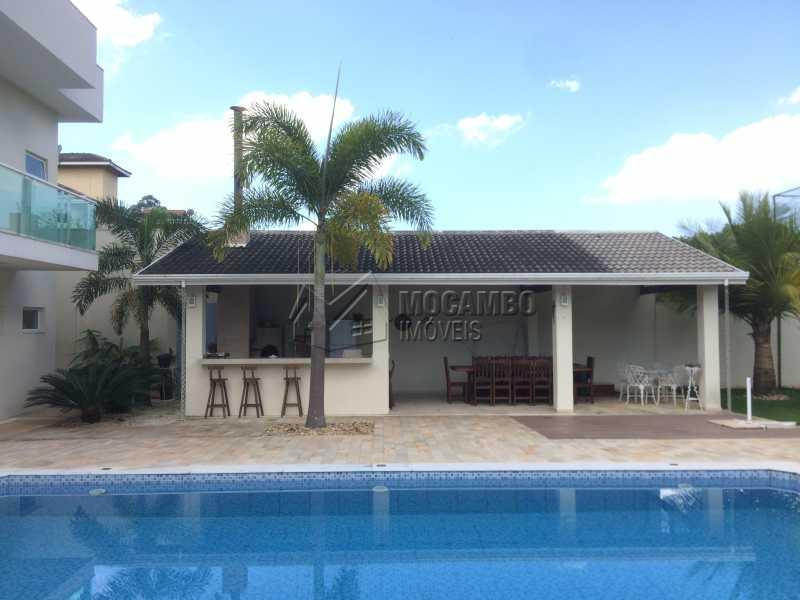 Área de lazer - Casa em Condomínio 4 quartos à venda Itatiba,SP - R$ 2.128.000 - FCCN40104 - 3