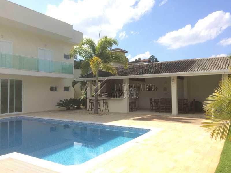 Área de lazer - Casa em Condomínio 4 quartos à venda Itatiba,SP - R$ 2.128.000 - FCCN40104 - 5