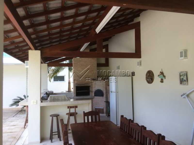 Área de churrasqueira - Casa em Condomínio 4 quartos à venda Itatiba,SP - R$ 2.128.000 - FCCN40104 - 8