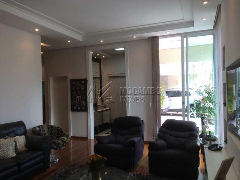 Sala estar/TV - Casa em Condomínio 4 quartos à venda Itatiba,SP - R$ 2.128.000 - FCCN40104 - 15