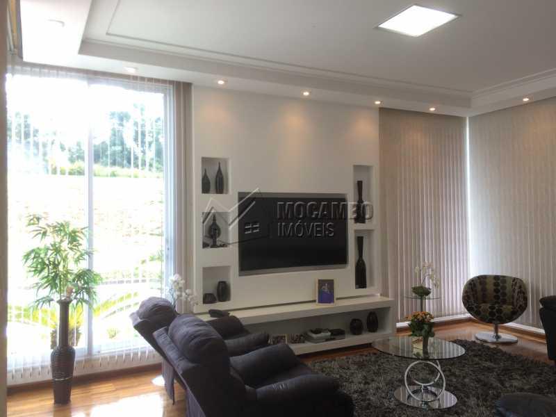 Sala estar/TV - Casa em Condomínio 4 quartos à venda Itatiba,SP - R$ 2.128.000 - FCCN40104 - 14