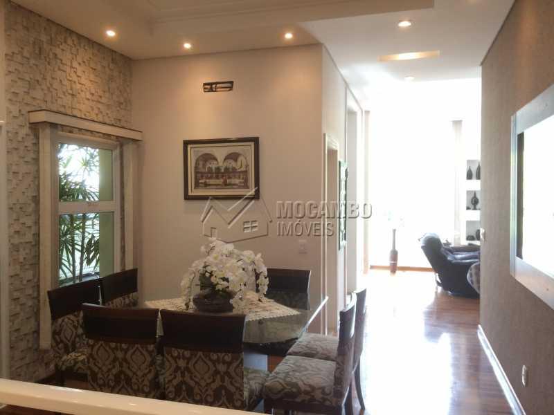 Sala de jantar - Casa em Condomínio 4 quartos à venda Itatiba,SP - R$ 2.128.000 - FCCN40104 - 17
