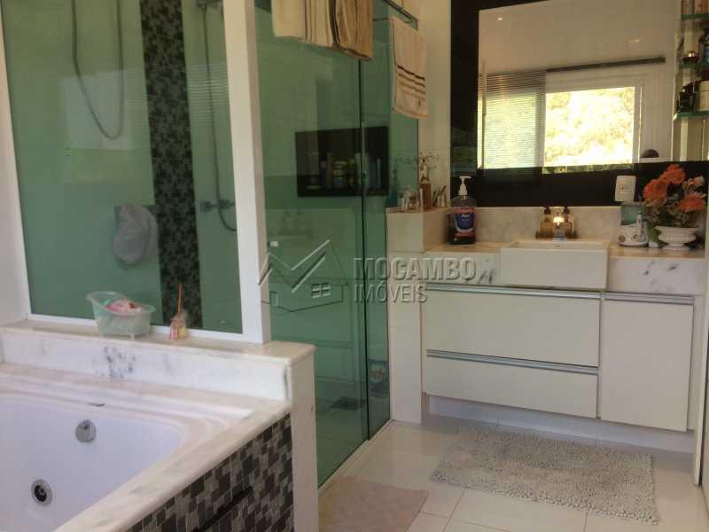 Banheiro suíte principal. - Casa em Condomínio 4 quartos à venda Itatiba,SP - R$ 2.128.000 - FCCN40104 - 31
