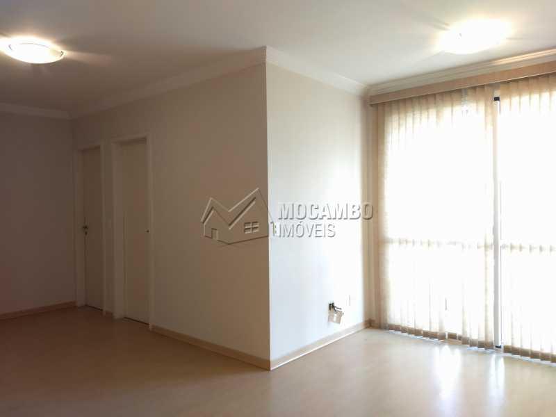 Sala - Apartamento Para Alugar - Itatiba - SP - Jardim Carlos Borella - FCAP20713 - 3