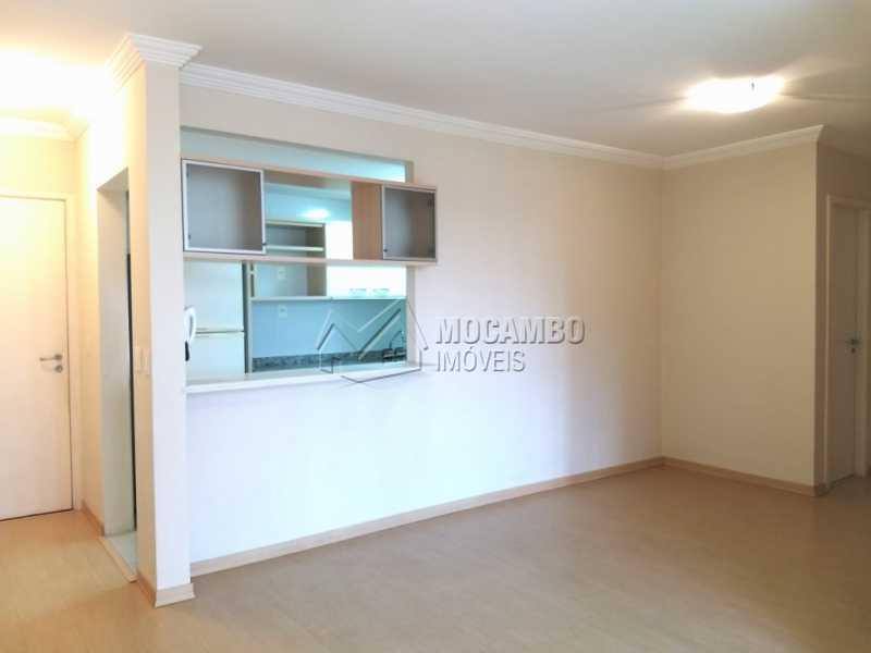 Sala - Apartamento Para Alugar - Itatiba - SP - Jardim Carlos Borella - FCAP20713 - 4