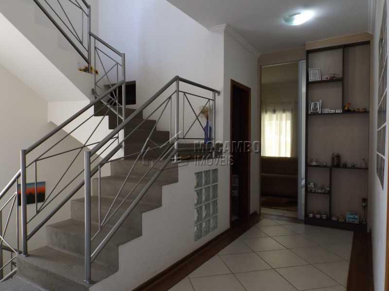 Hall - Casa Para Venda ou Aluguel no Condomínio Cachoeiras do Imaratá - Real Parque Dom Pedro I - Itatiba - SP - FCCN30322 - 10