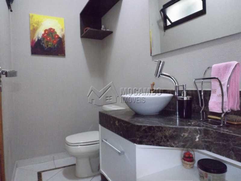 Lavabo - Casa Para Venda ou Aluguel no Condomínio Cachoeiras do Imaratá - Real Parque Dom Pedro I - Itatiba - SP - FCCN30322 - 11