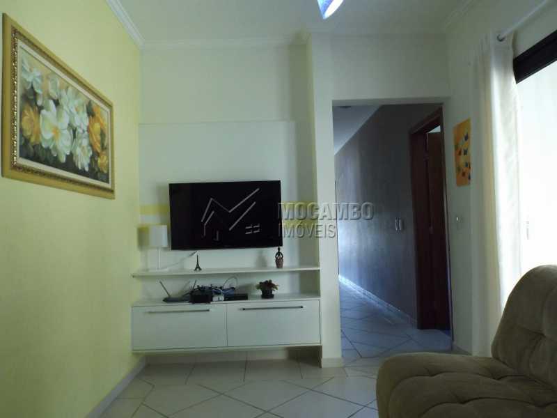 Sala de TV - Casa Para Venda ou Aluguel no Condomínio Cachoeiras do Imaratá - Real Parque Dom Pedro I - Itatiba - SP - FCCN30322 - 12