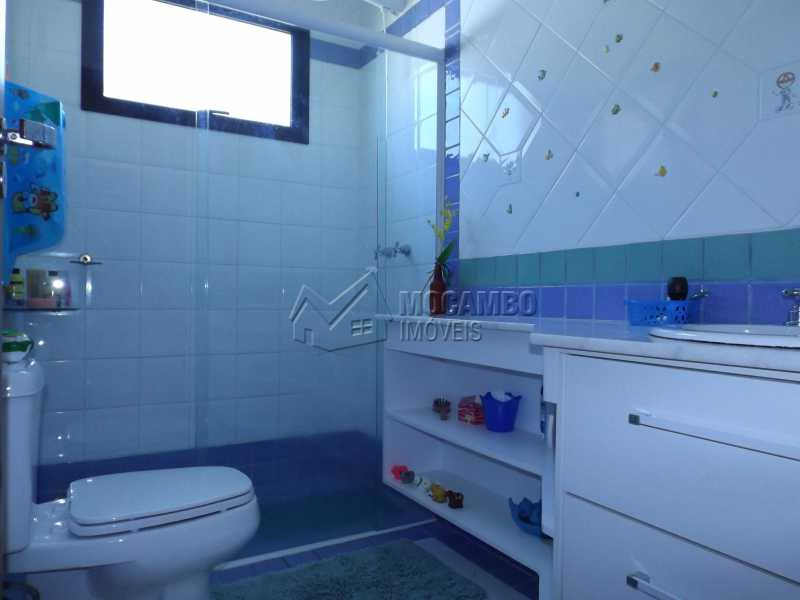 Banheiro Social - Casa Para Venda ou Aluguel no Condomínio Cachoeiras do Imaratá - Real Parque Dom Pedro I - Itatiba - SP - FCCN30322 - 13