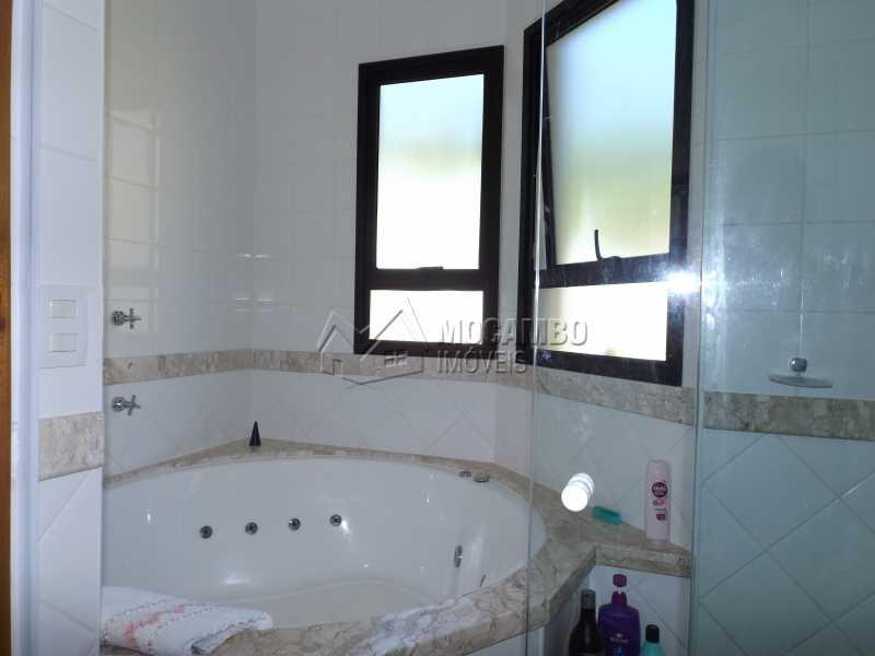 Banheiro Suíte Master - Casa Para Venda ou Aluguel no Condomínio Cachoeiras do Imaratá - Real Parque Dom Pedro I - Itatiba - SP - FCCN30322 - 17