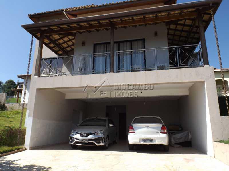 Fachada Externa - Casa Para Venda ou Aluguel no Condomínio Cachoeiras do Imaratá - Real Parque Dom Pedro I - Itatiba - SP - FCCN30322 - 21