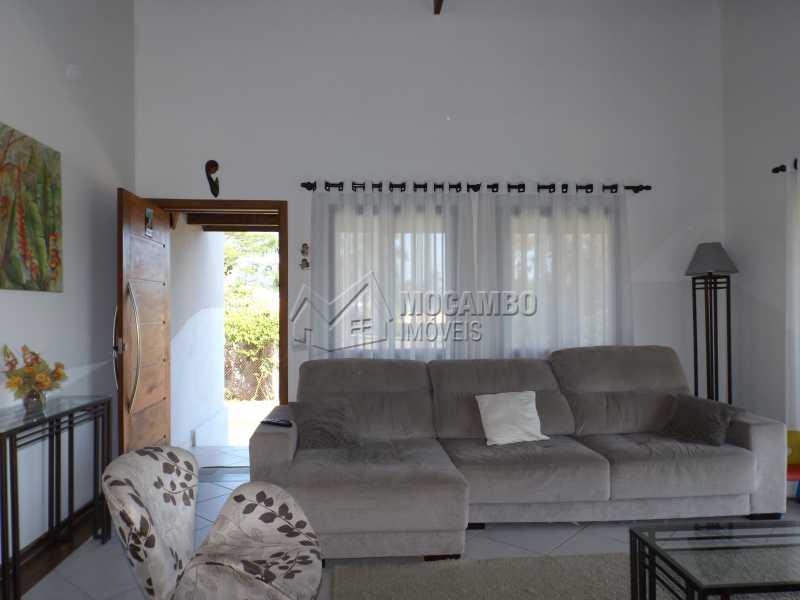 Sala - Casa Para Venda ou Aluguel no Condomínio Cachoeiras do Imaratá - Real Parque Dom Pedro I - Itatiba - SP - FCCN30322 - 4