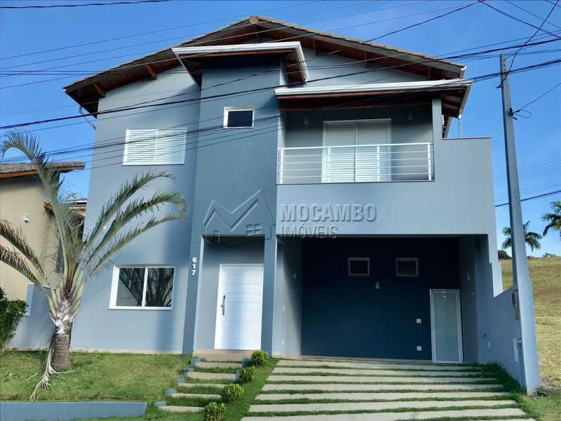 Fachada da Casa - Casa em Condomínio 3 quartos à venda Itatiba,SP - R$ 700.000 - FCCN30323 - 3